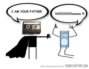 Cassette and iPod