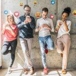 Young Millennials on Social Media