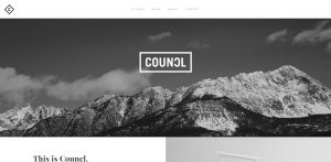 Councl's home page