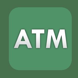 ATM menu